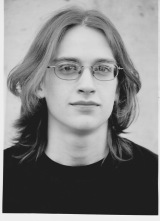 Dan as a senior in high school